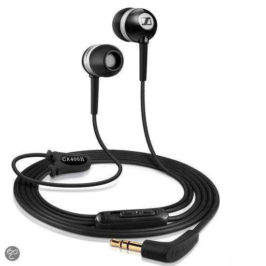 Sennheiser CX400 II - In-ear oordopjes - Zwart