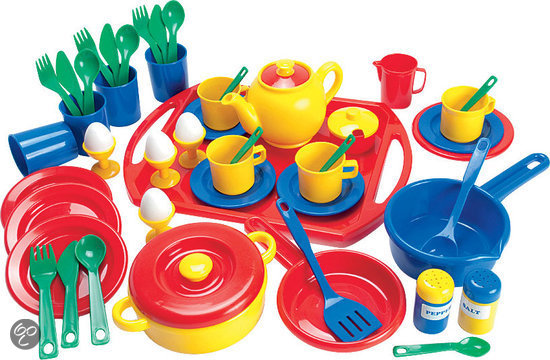 Speelgoed Keuken Accessoires Plastic : Kids-n-fun Shop – servies en bestek