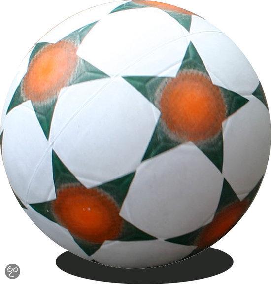 Rubberen Straatvoetbal maat 5 zwart/wit 420 gr in Beilervaart