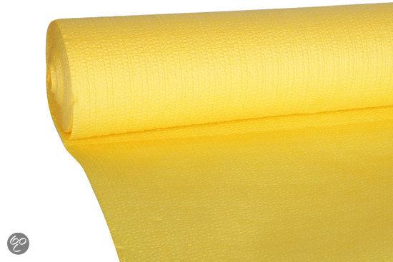 Cosy&Trendy Papieren Tafelkleed op Rol - Geel in Roborst