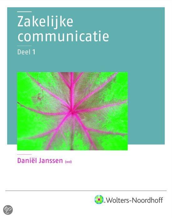 Zakelijke Communicatie / 1