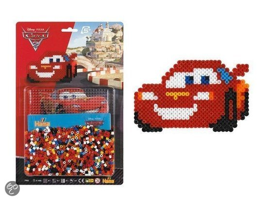 Hama Strijkkralen Disney Cars