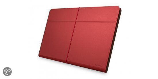 Sony beschermhoes voor de Xperia Tablet Z - Rood