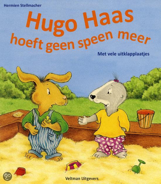 Hugo haas hoeft geen speen meer