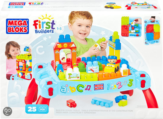 Mega Bloks First Builders Maxi 3 in 1 Bouwtafel