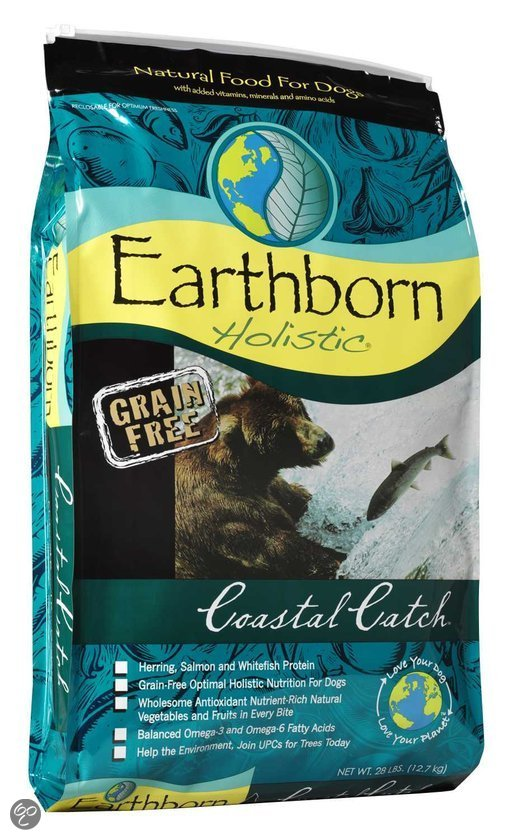 bol   earthborn coastal catch hondenvoer   2 5 kg dier