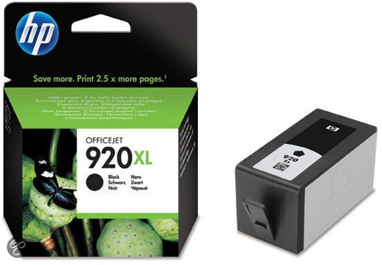 HP 920XL - Inktcartridge Zwart