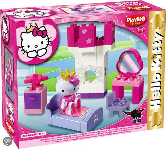 bol.com  Play BIG Bloxx - Hello Kitty Slaapkamer,BIG  Speelgoed