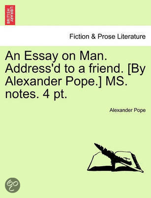 Essay on man analysis