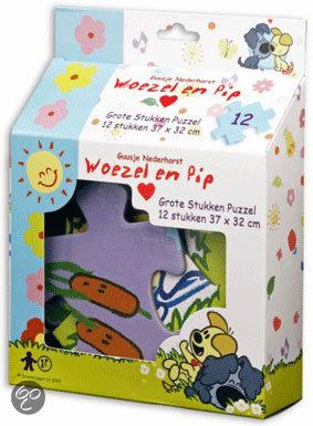 Woezel en Pip Grote Stukken Puzzel