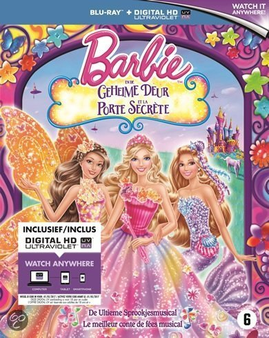 bol.com  Barbie - En De Geheime Deur (Blu-ray), Animation ...