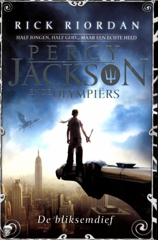 De Bliksemdief Percy Jackson cover