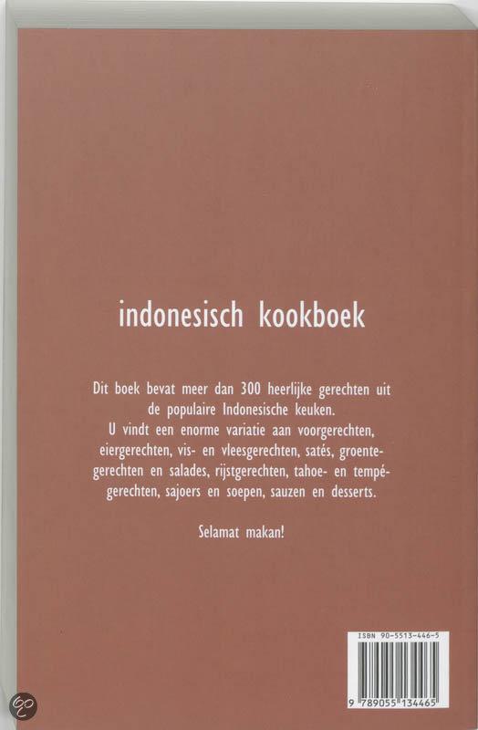 bol com Indonesisch kookboek, Marjolein Wildschut