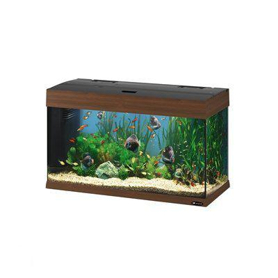 ferplast dubai aquarium 80 liter walnoot. Black Bedroom Furniture Sets. Home Design Ideas