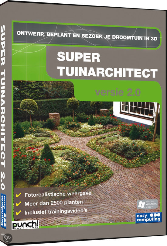 Super tuinarchitect 2 0 easy computing computer for 3d tuinarchitect