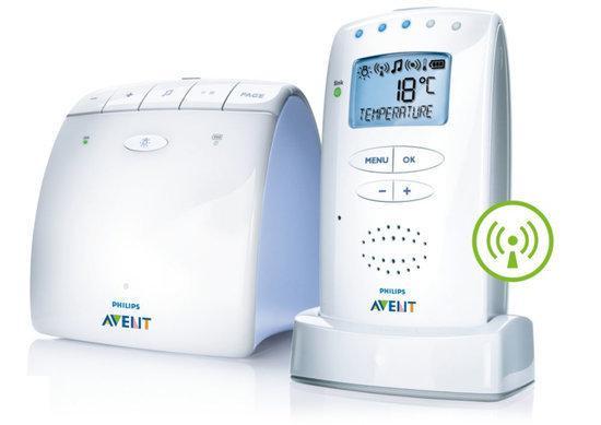 Philips Avent SCD 525/00 - Babyfoon - Wit