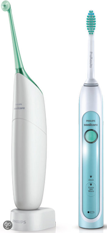 Philips Sonicare AirFloss HX8117/33 + HealthyWhite Elektrische Tandenborstel