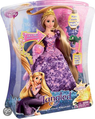 Disney Rapunzel - Sing and Glow