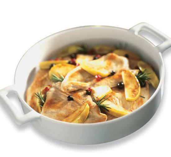 Revol belle cuisine ovenschaal rond diep for Revol belle cuisine