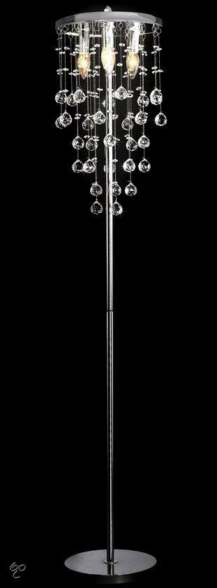 Vidaxl vloerlamp 145 cm met glas - Stehlampe kronleuchter ...