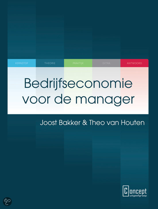 Bedrijfseconomie voor de manager