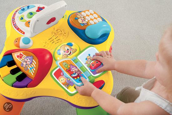 fisher price speel leer tafel mattel speelgoed. Black Bedroom Furniture Sets. Home Design Ideas