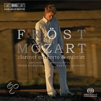 Mozart: Clarinet Concerto, Quintet - Martin Frst -SACD- (Hybride/Stereo/5.1) (speciale uitgave)