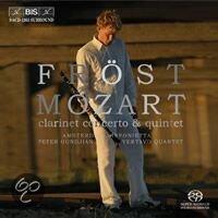 Mozart: Clarinet Concerto, Quintet - Martin Fröst -SACD- (Hybride/Stereo/5.1) (speciale uitgave)