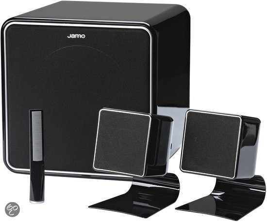 Jamo P 102 - 2.1 Speakerset - Zwart