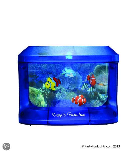 aquarium met licht dier. Black Bedroom Furniture Sets. Home Design Ideas