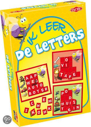 Ik leer de letters - Educatief spel in Genne