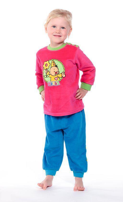 Pyjama met voetjes in molton (set van 2) | Babykleren
