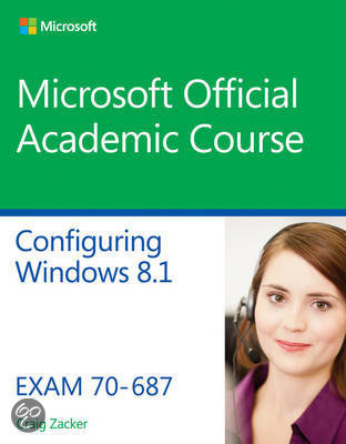 Bol com 70 687 configuring windows 8 1 microsoft official academic