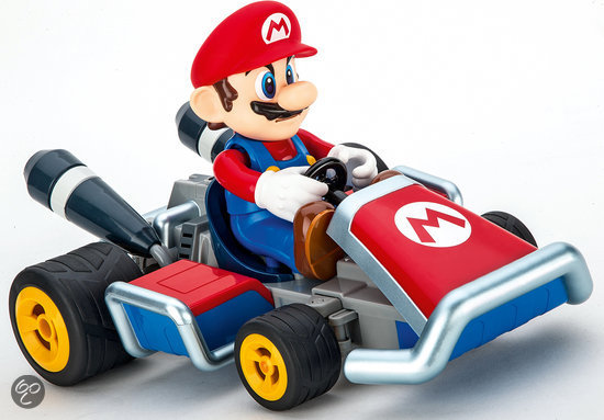 carrera rc mario kart 7 mario rc auto carrera. Black Bedroom Furniture Sets. Home Design Ideas