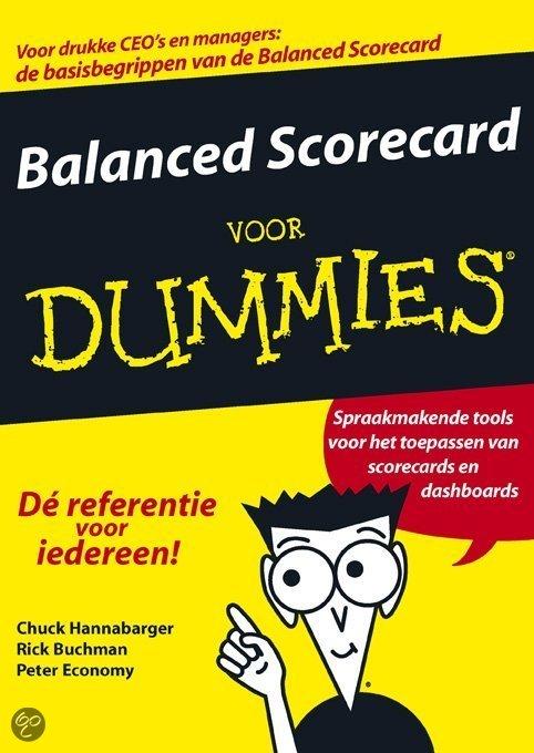 Balanced Scorecard voor Dummies