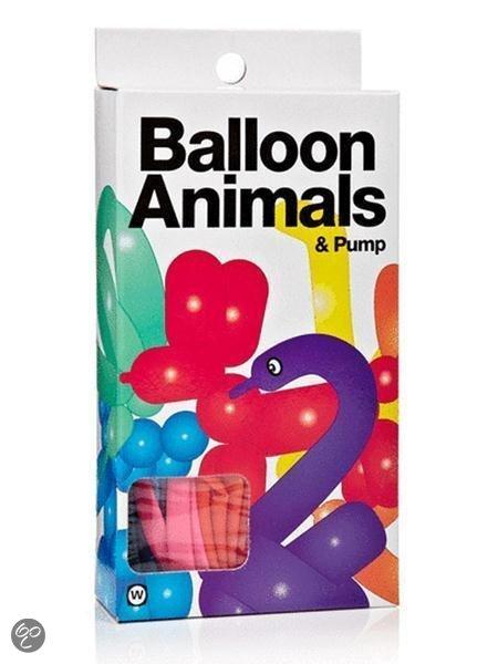Modelleer ballonnen van dieren in Manhay