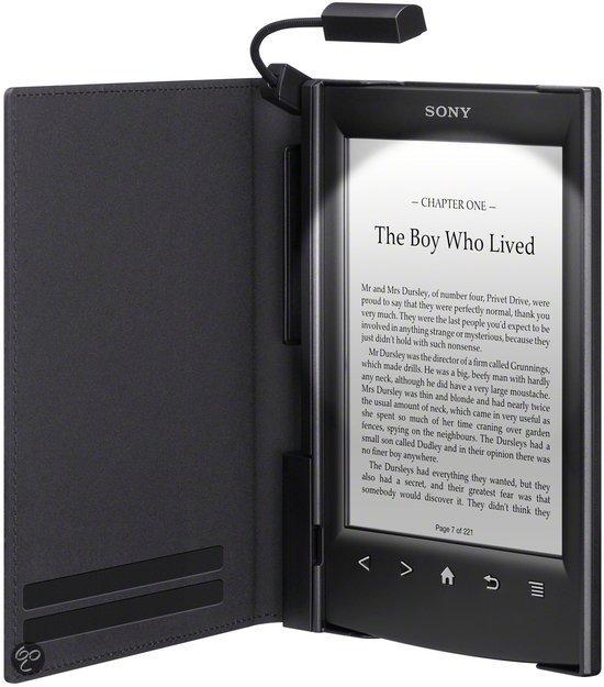 Sony Reader™ LED Cover met Leeslampje (PRSACL22B) - Zwart