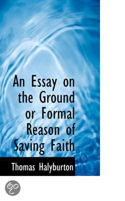 essays on faith and reason