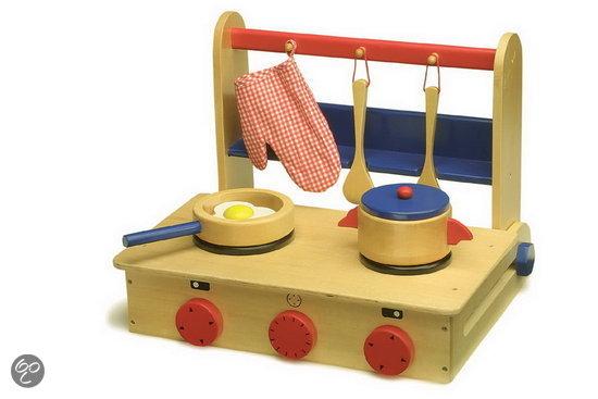 Speelgoed Keuken Maken : bol.com Houten keuken inklapbaar als koffer Speelgoed