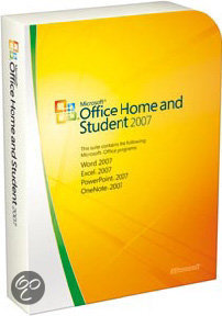 Microsoft Office Home And Student 2007 NL