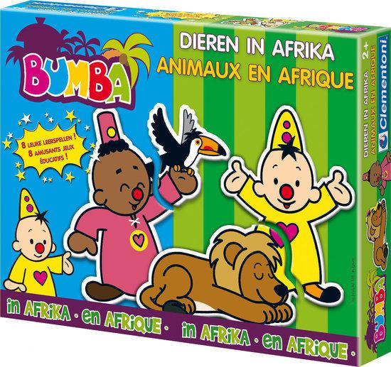 Bumba Leerpuzzel - Dieren in Afrika