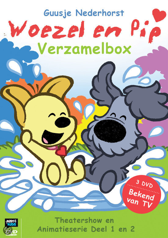 Woezel en Pip - Verzamelbox