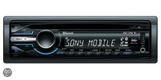 sony mex bt3900u autoradio met bluetooth. Black Bedroom Furniture Sets. Home Design Ideas