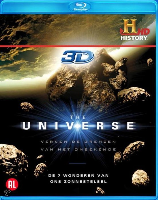 The Universe 3D - 7 Wonders Of The Solarsystem (Blu-ray)