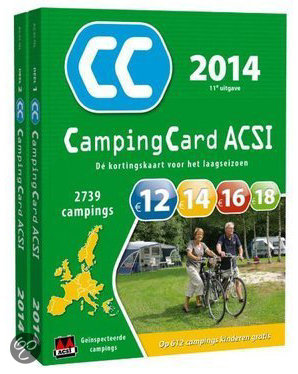 Campingcard ACSI / 2014 Deel 1 en Deel 2