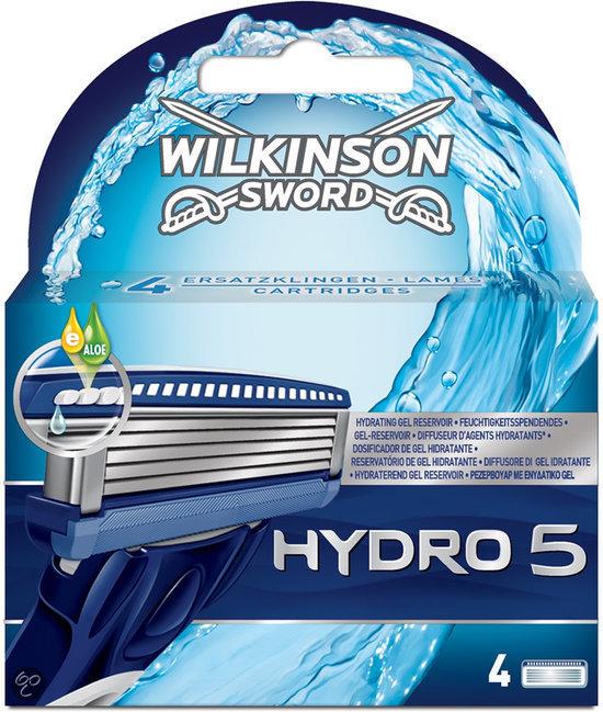 bol.com : Wilkinson Sword Hydro 5 - 4 stuks - Scheermesjes : Mooi en ...
