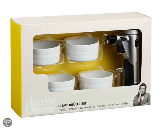 jamie oliver cr me brulee set 4 stuks wit koken en tafelen. Black Bedroom Furniture Sets. Home Design Ideas