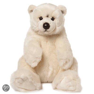 Pluche knuffel  ijsbeer 32 cm in Sint-Agatha-Rode