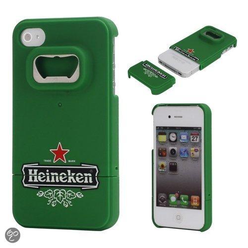 iPhone 4 en 4S handig bieropener hoesje - Heineken hoesje met opener
