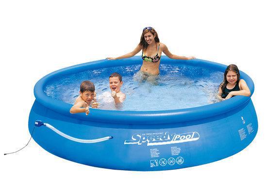 Speedy pool zwembad met pomp 245cm for Zwembad rechthoekig met pomp